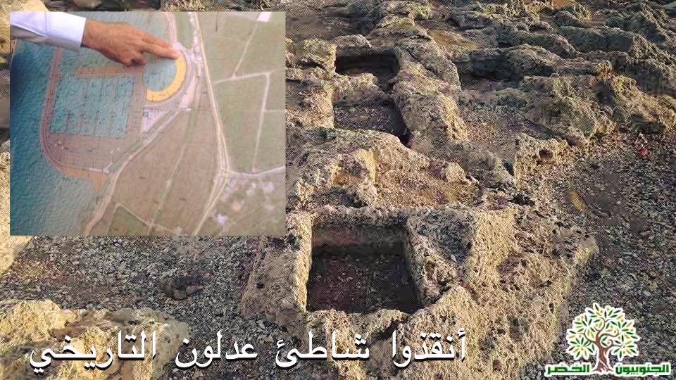 دعوة لإعلان شاطئ عدلون محمية طبيعية وأثرية