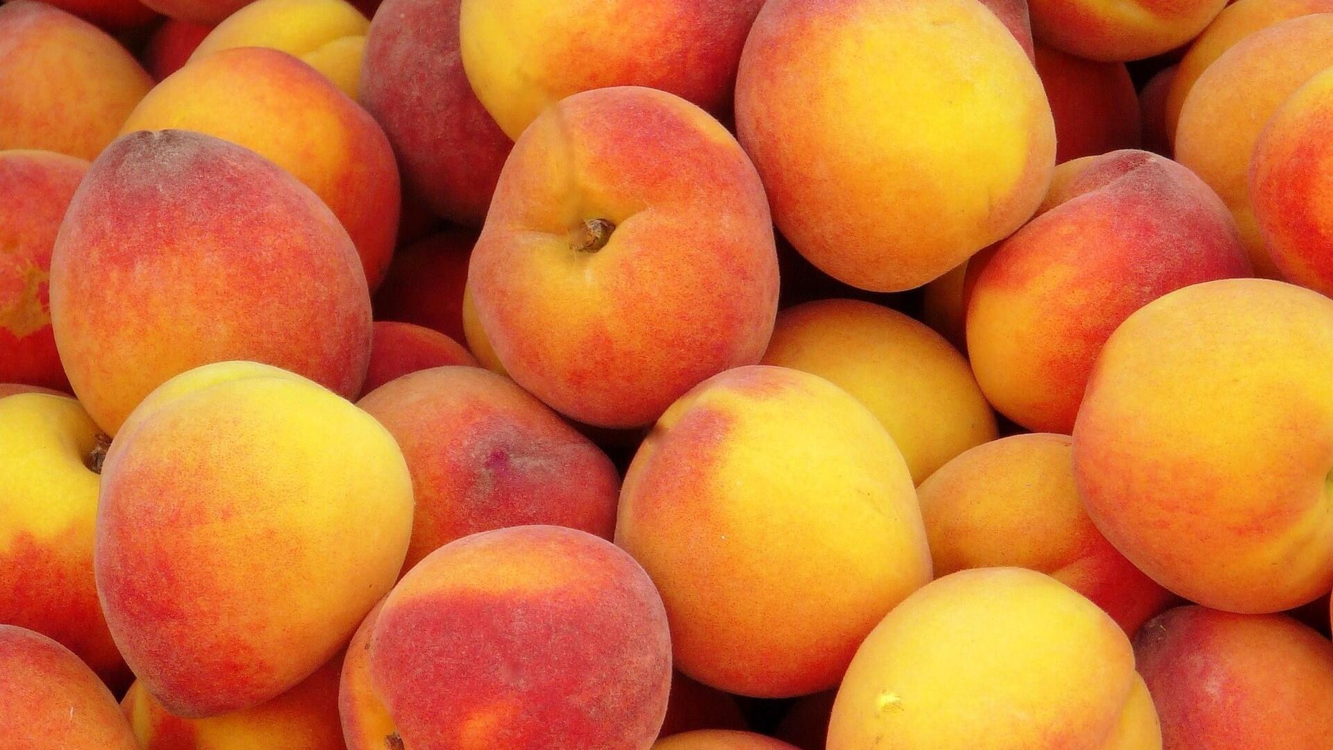 peaches fruit fruit bars