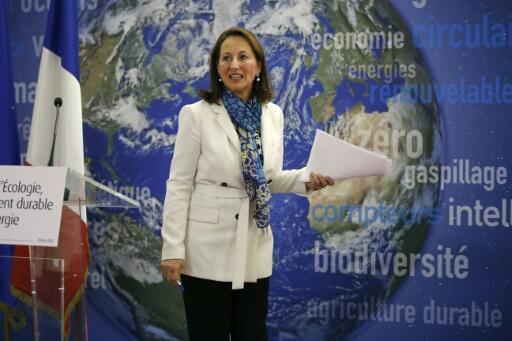 Royal appelle les Européens à accélérer la ratification de l'accord sur le climat