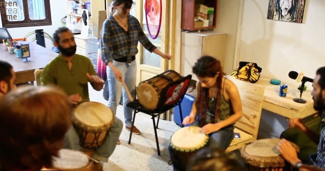 Djembé et percussion africaine à Beyrouth