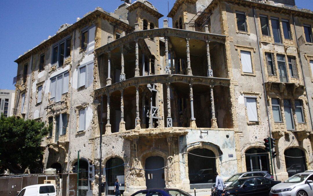 «Beit Beirut» témoin de la guerre libanaise