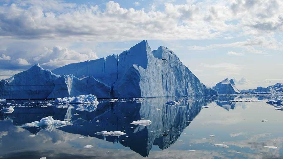 El deshielo de Groenlandia, consistente con la amplificación ártica