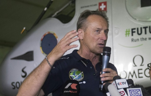 Solar Impulse: André Borschberg entre dans la légende de l'aviation