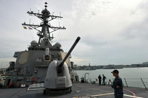 De nombreuses bases militaires des Etats-Unis menacées par la hausse des océans