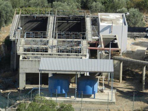 محطة تكرير متوقفة في حوض الحاصباني-باسل ابو حمدان