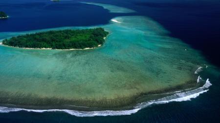 Avalées par la mer: cinq îles disparaissent et six autres sont à risque