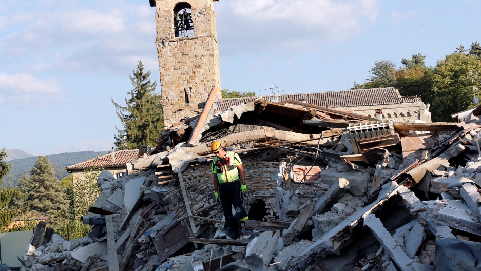Rescuing quake-stricken Amatrice's heritage