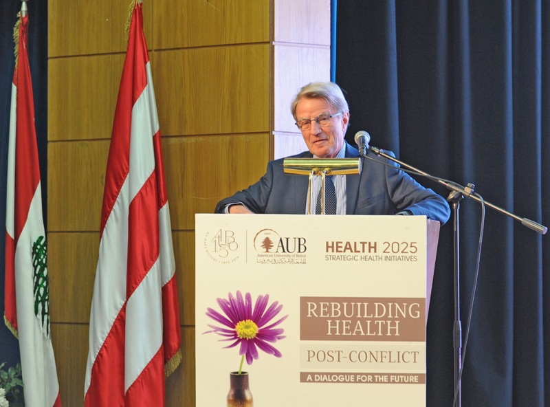 International Forum at AUB on rebuilding health post conflict