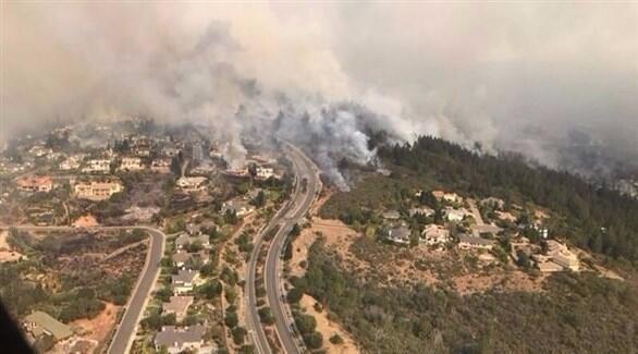 Wildfire Devastation in california