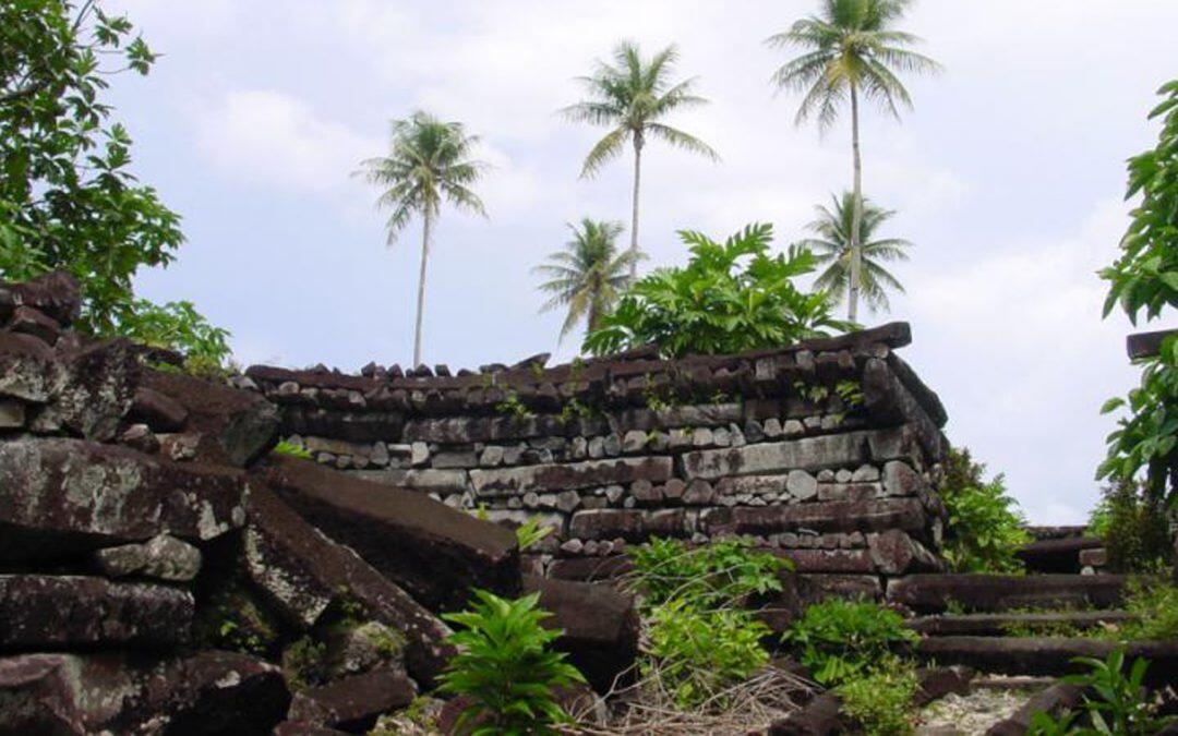 Una misteriosa ciudad bajo las islas de Nan Madol !!!