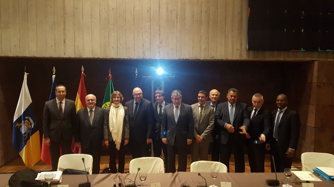 Encuentro De Los Ministros De Agricultura De Espa A Francia Y  # Muebles Tejerina