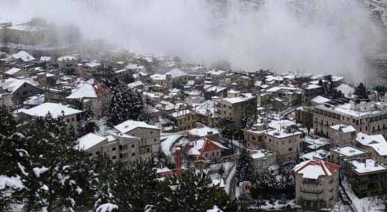 طقس متقلب امطار متفرقة وثلوج فوق 1500 متر