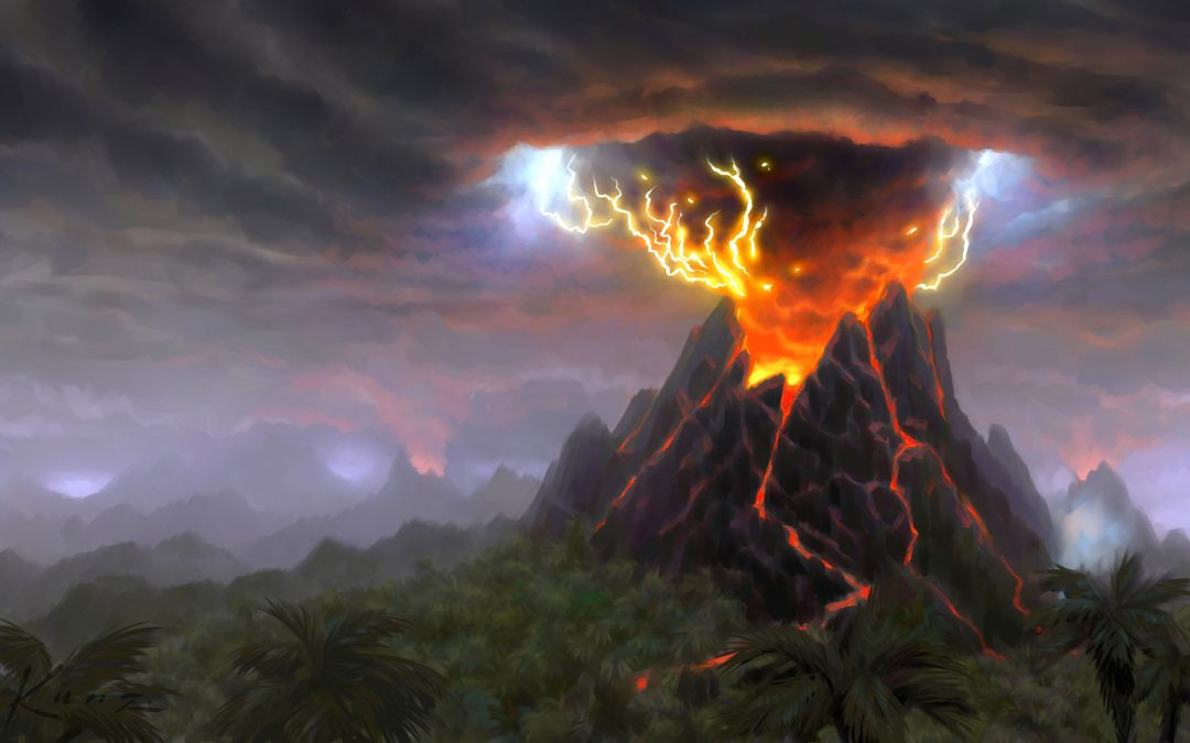 """""""البركان العظيم"""" .. بريء من انقراض البشرية!"""