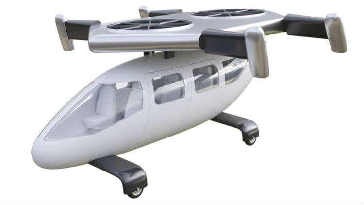 سيارة طائرة من نوع جديد