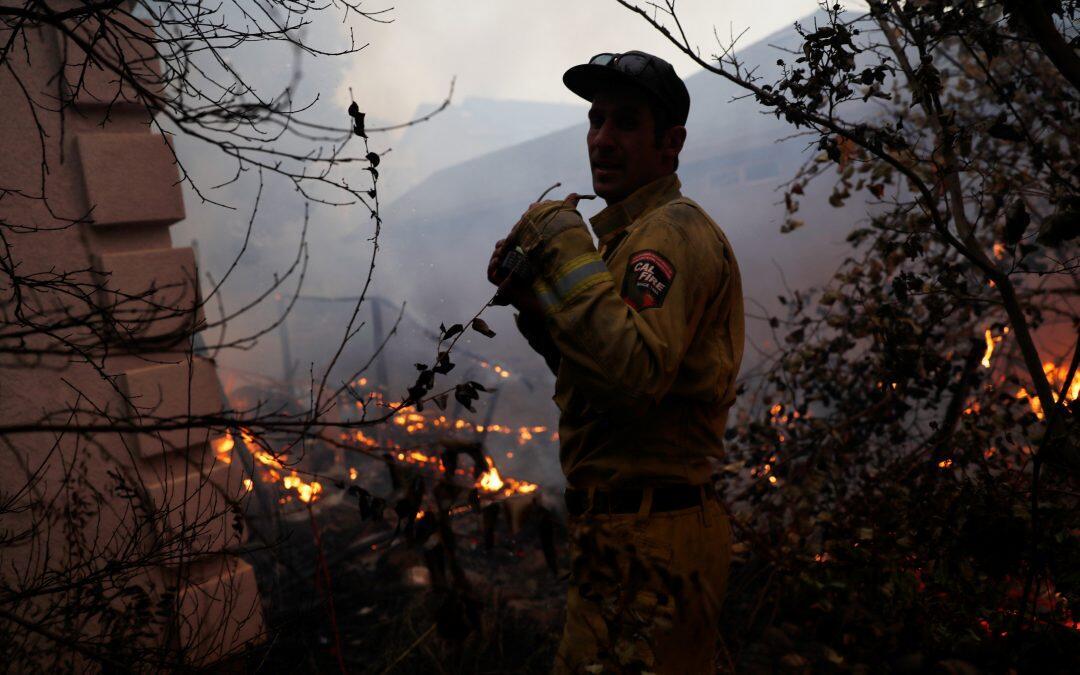 الحرائق تتجدد وتلتهم الغابات فى ولاية كاليفورنيا الأميركية