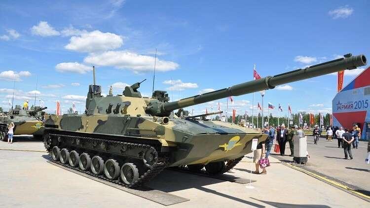 """اختبار """"دبابة طائرة"""" روسية عام 2019"""