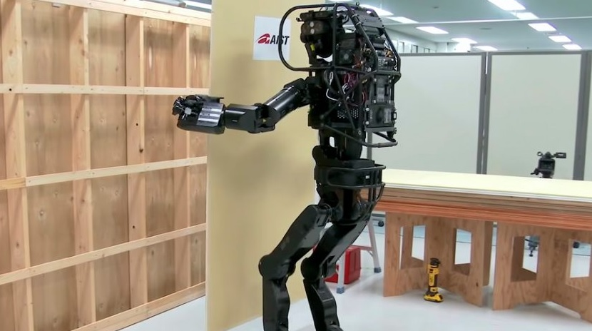 Llega HRP-5P, el robot obrero de la construcción