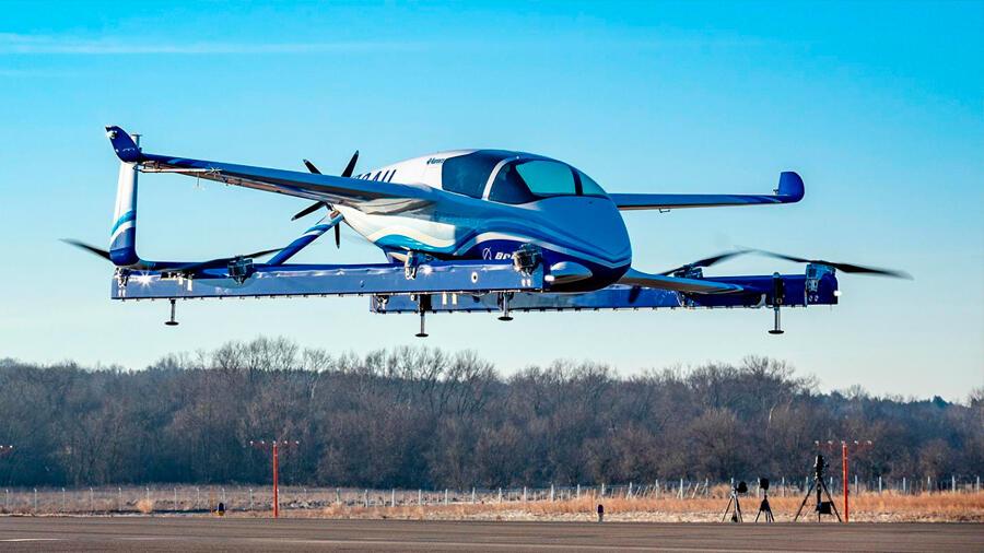 El avión urbano se aproxima rápidamente: Boeing realiza el primer vuelo autónomo