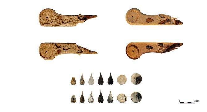 El análisis químico de cinco mangos revela que en el Mediterráneo occidental el pueblo íbero decoraba el marfil con estaño y ámbar