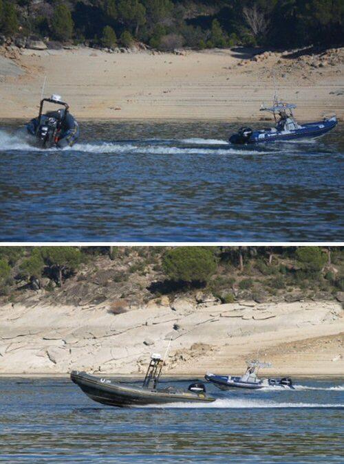 UTEK supera con éxito sus primeros ensayos con dos embarcaciones autónomas operando simultáneamente