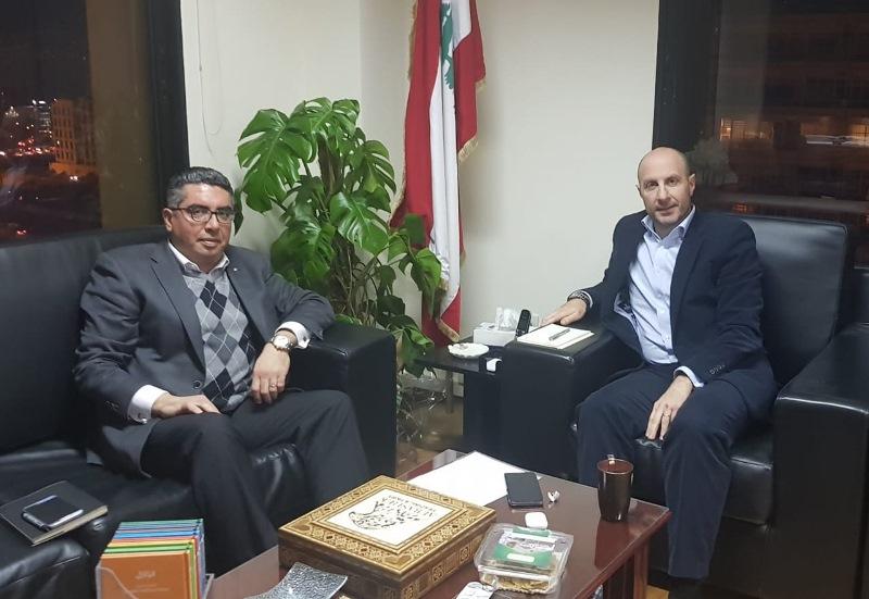 فادي جريصاتي التقى رئيس جمعية غدي: ستشهدون عملا دؤوبا لمتابعة الملفات البيئية