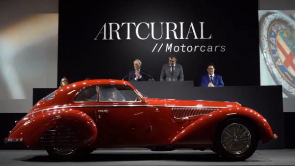 """بيع سيارة """"ألفا روميو"""" نادرة بسعر خيالي!"""