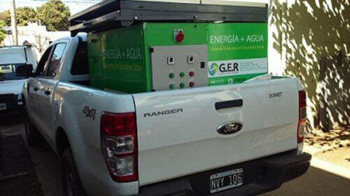 Novedoso equipo para el bombeo y desalinización de agua en zonas áridas o semiáridas