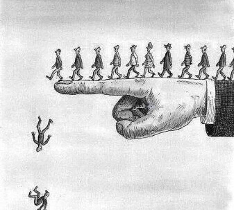التبعية  تسيطر على المجتمع اللبناني الى حد العبودية الحديثة والسبب القلق على المصير !