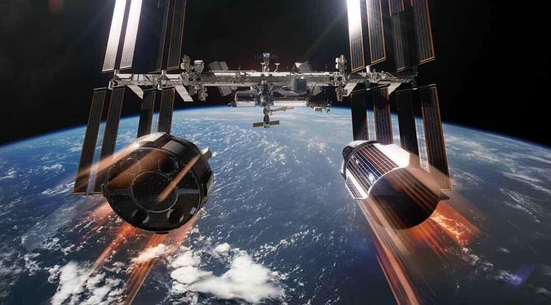 La Cygnus NG-10 deja la estación espacial