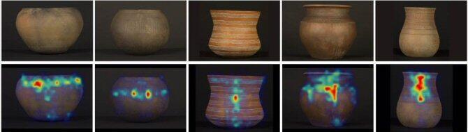 Cerámicas prehistóricas revelan la evolución paralela de la mirada y la sociedad