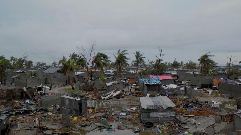 رئيس موزامبيق: عدد قتلى الإعصار إيداي تجاوز 200
