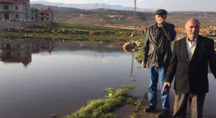 أهالي بلدة الكنيسة طالبوا وقف تدفق المياه المبتذلة من محطة تكرير الصرف الصحي بإيعات