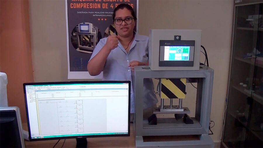 Crean estudiantes mexicanos máquinas y herramientas para colocación de piezas ortopédicas