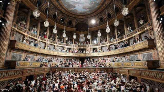 """حياة الملوك تعود إلى """"القصر الأسطوري"""" في فرنسا"""
