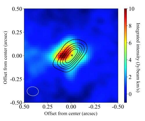 Descubren aluminio alrededor de una joven estrella