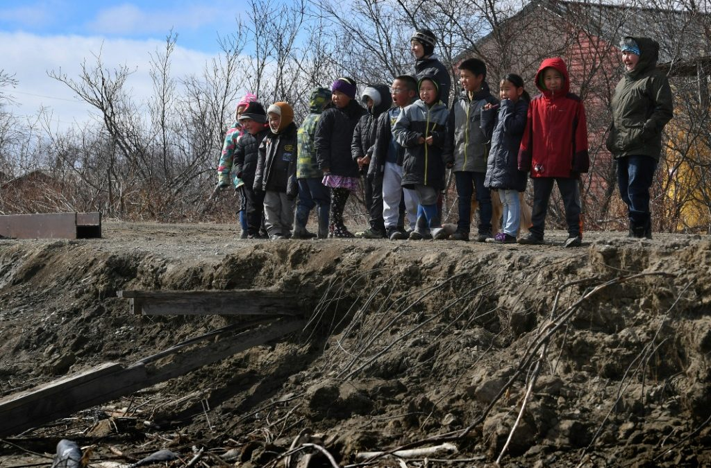 عشرات المجتمعات الأصلية في ألاسكا مهددة !
