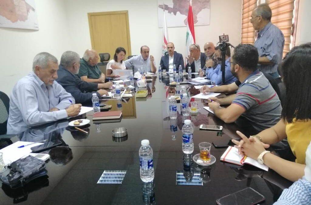 اتحاد بلديات بعلبك أطلق 3 مشاريع لزيادة المساحات الخضراء