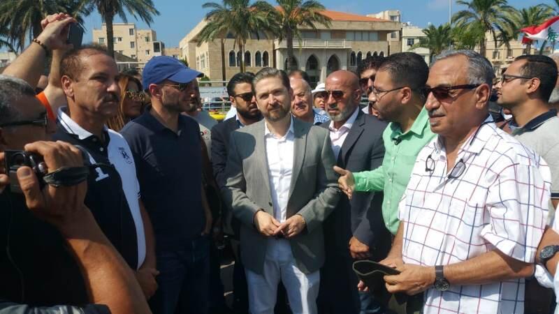 جريصاتي: جزيرة النخيل تضع طرابلس على خارطة السياحة العالمية كرامي: لا سياحة بدون بيئة وزيارتك تأكيد على حرصك على طرابلس