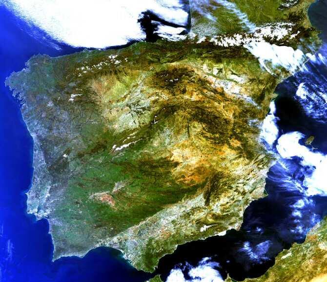 Proyecto Ecopotential, caracterizar mediante imágenes de satélite la huella humana en el planeta
