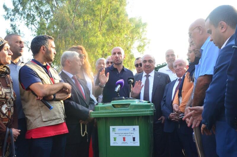 جريصاتي أطلق مشروع فرز النفايات من الشوف: هذا الملف غير سياسي والحلول المركزية للنفايات لم تعد ناجحة