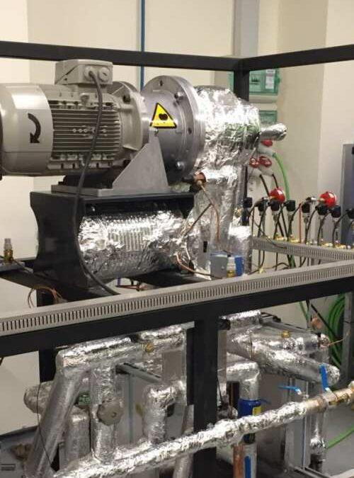 Primer prototipo de bomba de calor de alta temperatura de España para recuperar el calor residual industrial