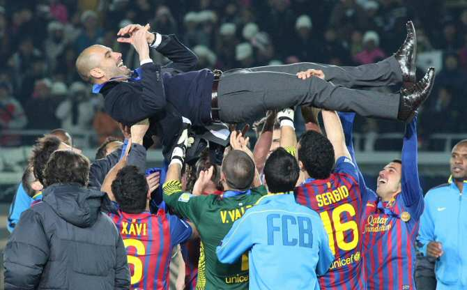 Analizan el Barça de Guardiola como una red compleja