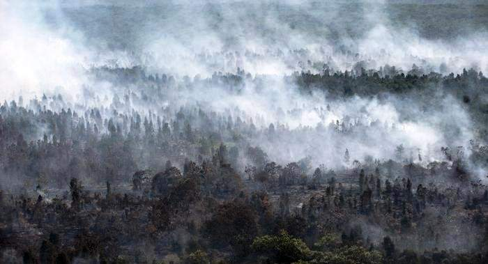 إغلاق آلاف المدارس في ماليزيا وإندونيسيا بسبب الضباب الناجم عن حرائق الغابات