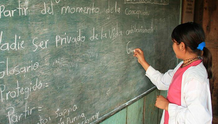 Greenarea junto a la ONU, lucha para un  alfabetización mundial.