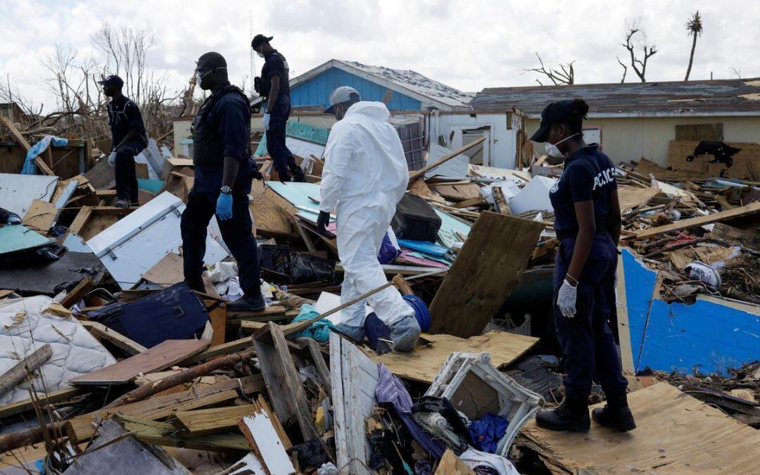 انخفاض عدد المفقودين في جزر الباهاما بعد الإعصار دوريان إلى 1300
