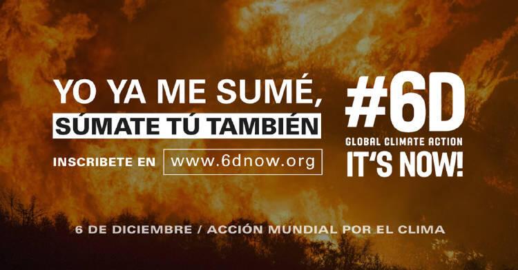 Millones de acciones climáticas tendrán lugar el 6 de diciembre en todo el planeta