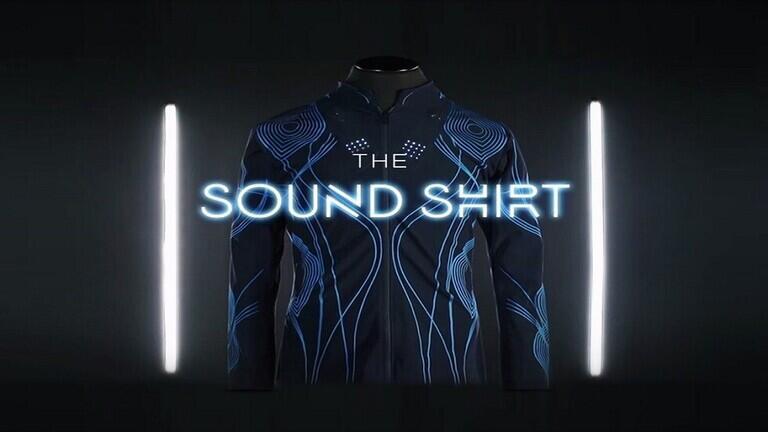 """قميص يمكّن الصم من تجربة """"صوت الموسيقى"""" بالأحاسيس"""