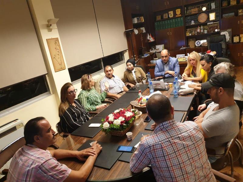 لجنة الشمال لمتابعة الكوارث عقدت اجتماعا طارئا وأطلقت مبادرة لتأمين أدوية ومواد غذائية