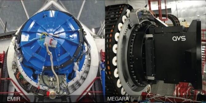 EMIR y MEGARA, dos instrumentos a pleno rendimiento en GRANTECAN