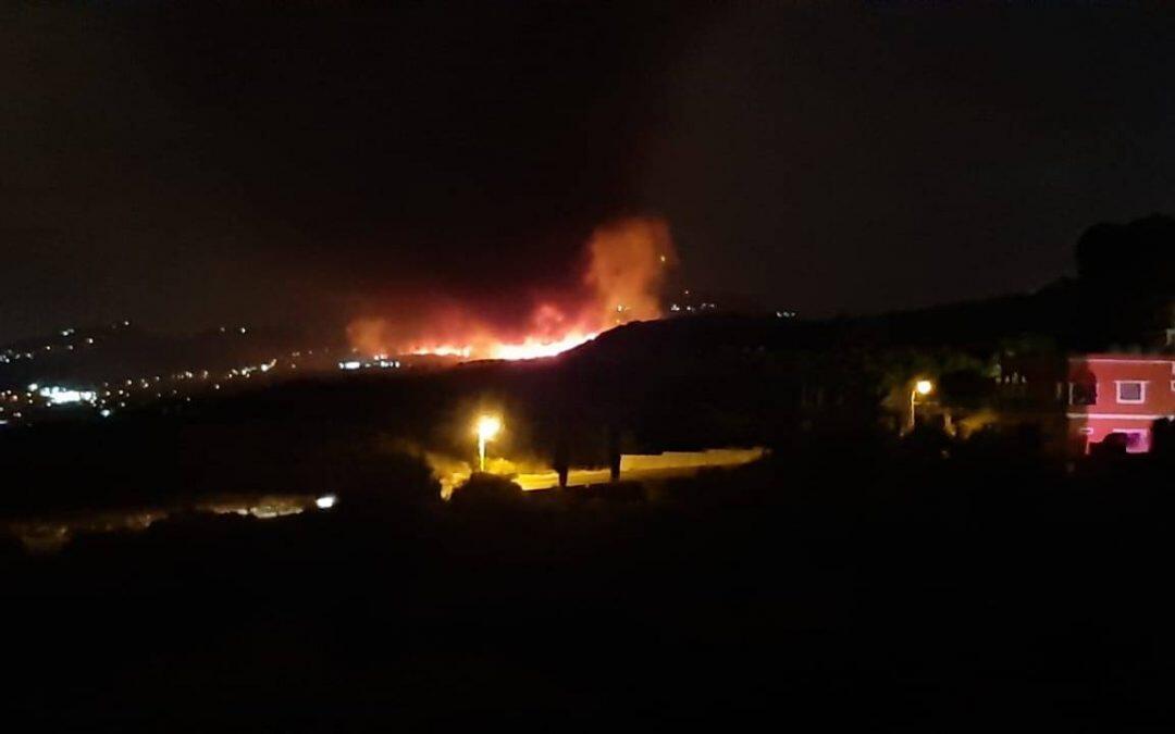 تحصد الحرائق  في لبنان سنويا نحو 25 مليون متر مربع كمتوسط في السنوات العشر الاخيرة.
